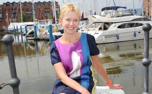 Rosie at the Marina, Hull.