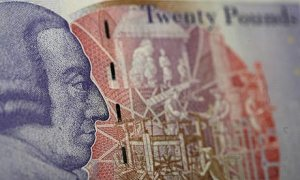 Move over! The soon to be replaced picture of economist Adam Smith on the £20 note