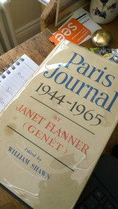 Cooly authoritative. Janet Flanner