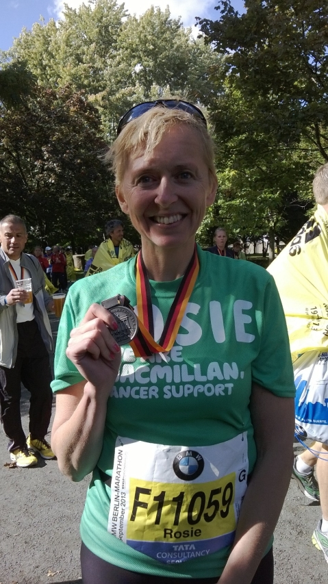 Berlin finisher